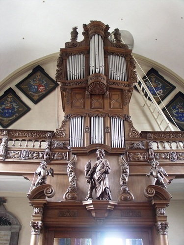 Wetteren Ten Ede Dorp zonder nummer Orgel in de Sint-Annakerk