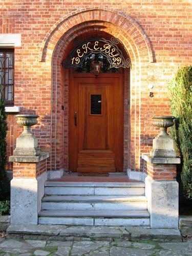Antwerpen Hagedoornlaan 8 portaal