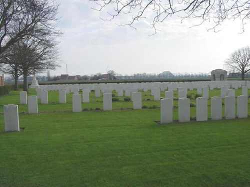 Boezinge: Talana Farm Cemetery