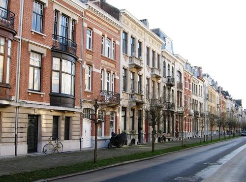 Antwerpen Eglantierlaan onpare zijde