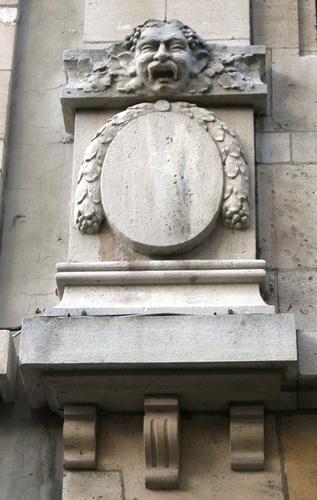 Antwerpen Eglantierlaan 110-114 medaillon
