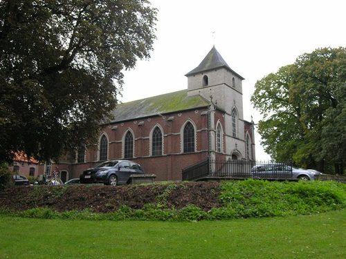 Lovenjoel Stationsstraat kerk en omgeving