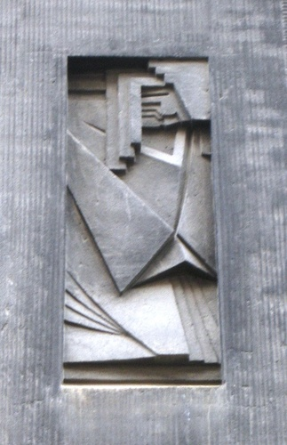 Antwerpen Helenalei 19 reliëf