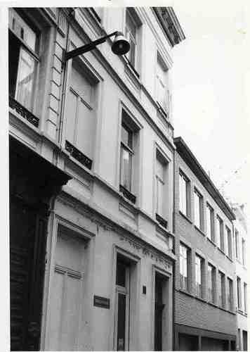 Antwerpen Kammenstraat 12 (zijde Bergstraat)
