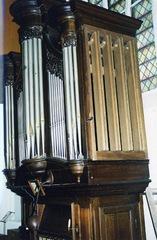 Orgel kapel Zusters van de Heilige Vincentius