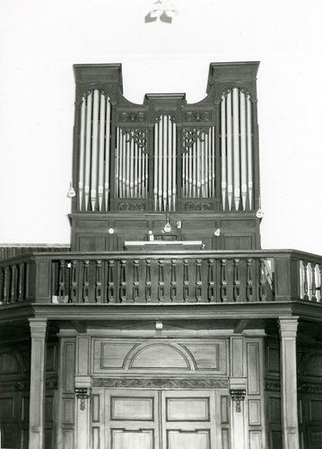 Deerlijk Kerkplein 25 Orgel in de Sint-Columbakerk