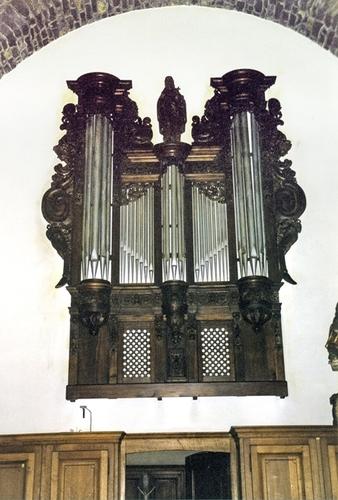 Harelbeke orgel in de Sint-Salvatorkerk oudfront