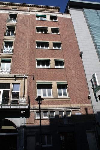 Antwerpen De Keyserlei 17 Zijgevel
