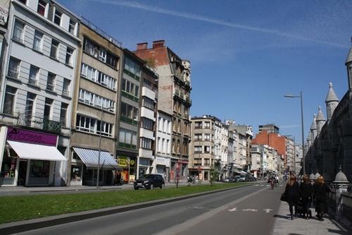 Antwerpen Simonsstraat Algemeen zicht