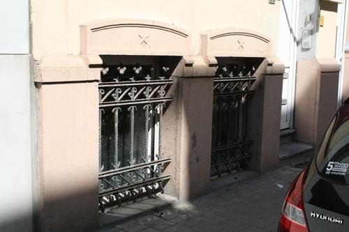 Antwerpen Van Leriusstraat 4 tralies