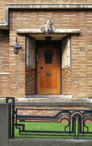Antwerpen Berkenlaan_WI 23 deur en tuinhek