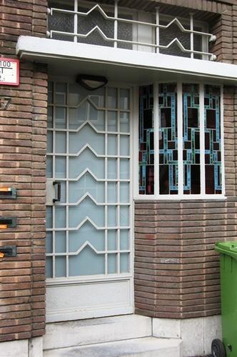 Antwerpen Vijverlaan 37 deur
