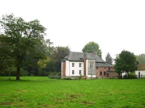 Het Kasteel van Walfergem, gezien vanuit het noorden