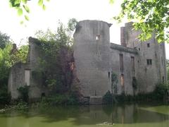 Gemeentelijk park bij de ruïne van het Prinsenkasteel