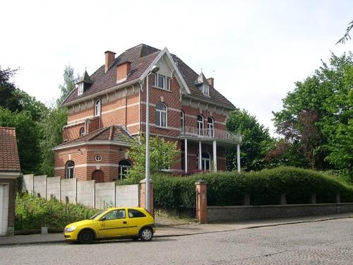 De villa van notaris Goossens, representatief voor de villa's van rond de Eerste Wereldoorlog