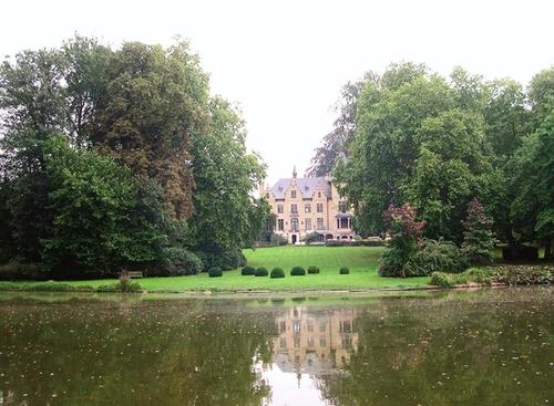 Het kasteel van Wolvendaal vanuit het noorden
