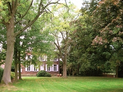Château d'Hulst met tuin
