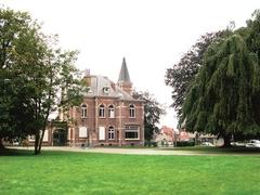 Restant van de tuin van de notariswoning Wijnants