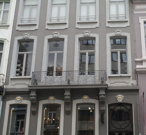 Antwerpen Appelmansstraat 19 Detail