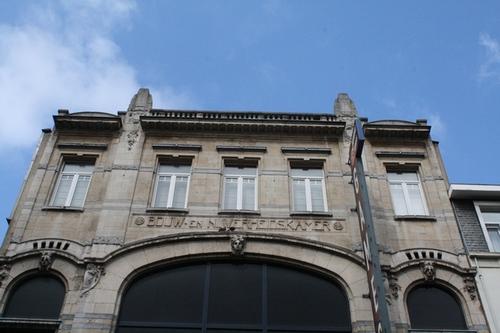 Antwerpen Breydelstraat 14 opschrift