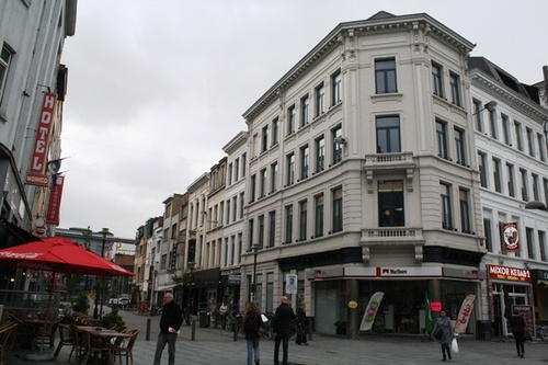 Antwerpen Statiestraat Algemeen beeld