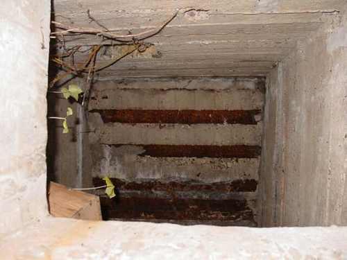 Boezinge: observatiepost: 2de verdieping