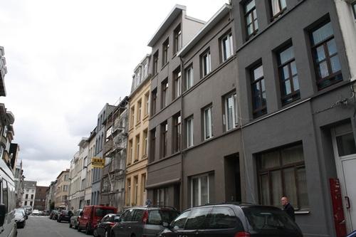 Antwerpen Terliststraat straatbeeld
