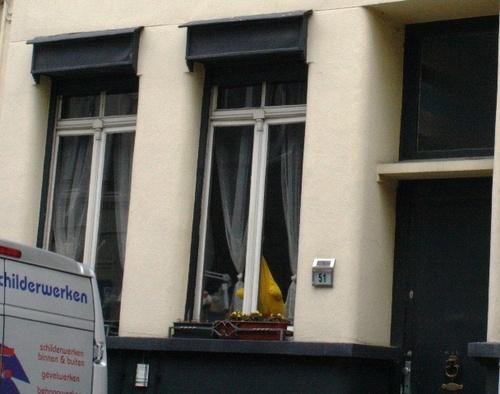 Antwerpen Terliststraat 51 houtwerk