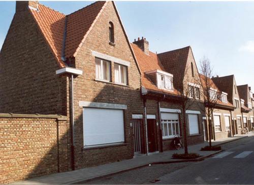 Brugge Koolkerke Dokwerkersstraat straatbeeld
