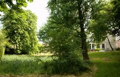 Tuin van een directeurswoning