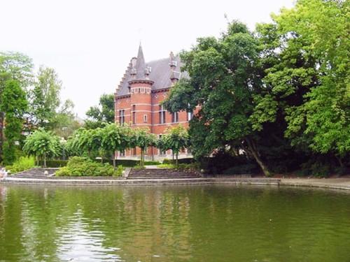 Het kasteel 'Val Marie', sinds 1988 een cultureel centrum