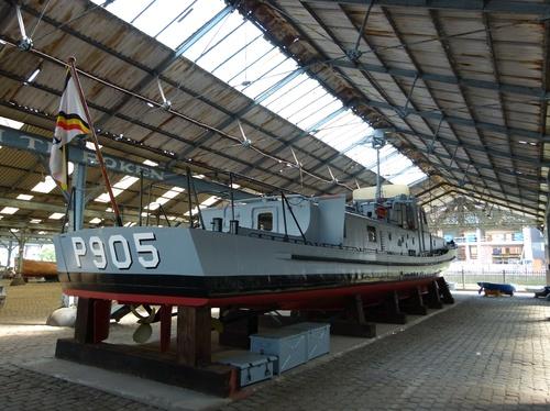De P905 Schelde maakt vandaag deel uit van de museumcollectie van het MAS