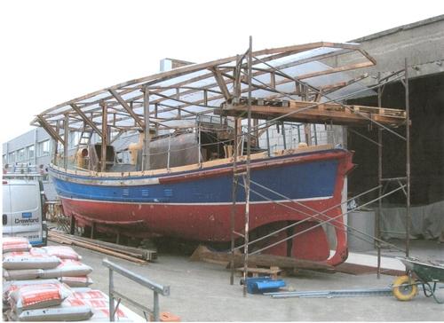 De Watson 3 Oostende wacht op restauratie