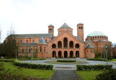 Sint-Andriesabdij Zevenkerken met bijhorende school