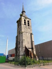 Kerktoren parochiekerk Sint-Laurentius