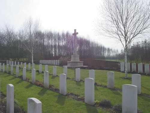Zillebeke: 1st DCLI Cemetery: overzicht