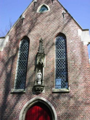 Brugge Kleine Kerkhofstraat begraafplaats kapel