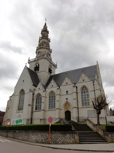 Machelen Kerktorenstraat zonder nummer kerk