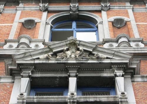 Antwerpen Quinten Matsyslei 50 fronton