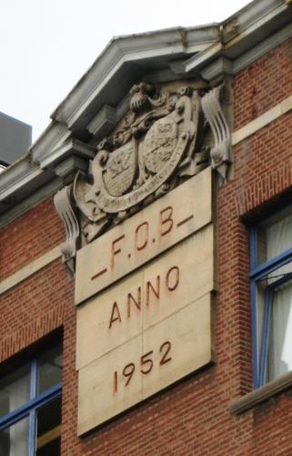 Antwerpen Quinten Matsysle 50 alliantiewapen