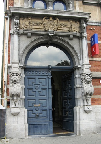 Antwerpen Quinten Matsyslei 50 portaal