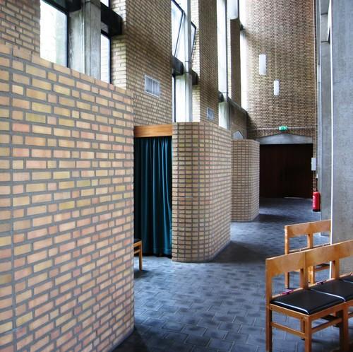 Antwerpen Valkenveld zonder nummer biechtstoelen