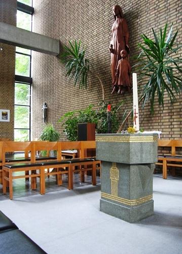 Antwerpen Valkenveld zonder nummer doopvont