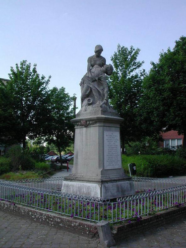 Brugge Gaston Roelandtsplein zonder nummer standbeeld