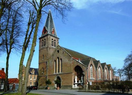 Brugge Pastoor Verhaegheplein 13 kerk