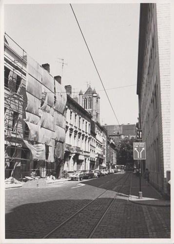Gent Sint-Niklaasstraat straatbeeld