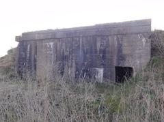 Duitse bunker vliegveld Uitkerke