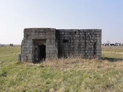 Duitse bunker 'WN Tross-Trompet'