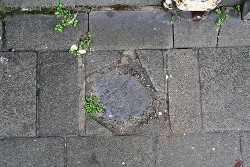 Antwerpen Kersbeekstraat 25 grenssteen