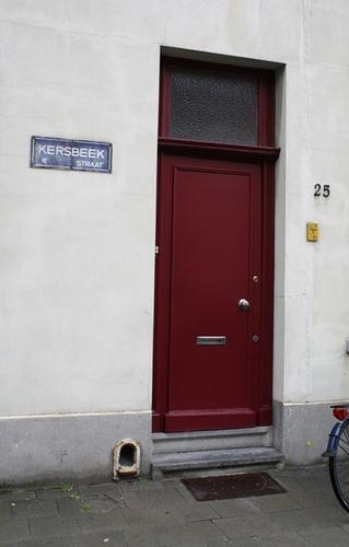 Antwerpen Kersbeekstraat 25 situatie